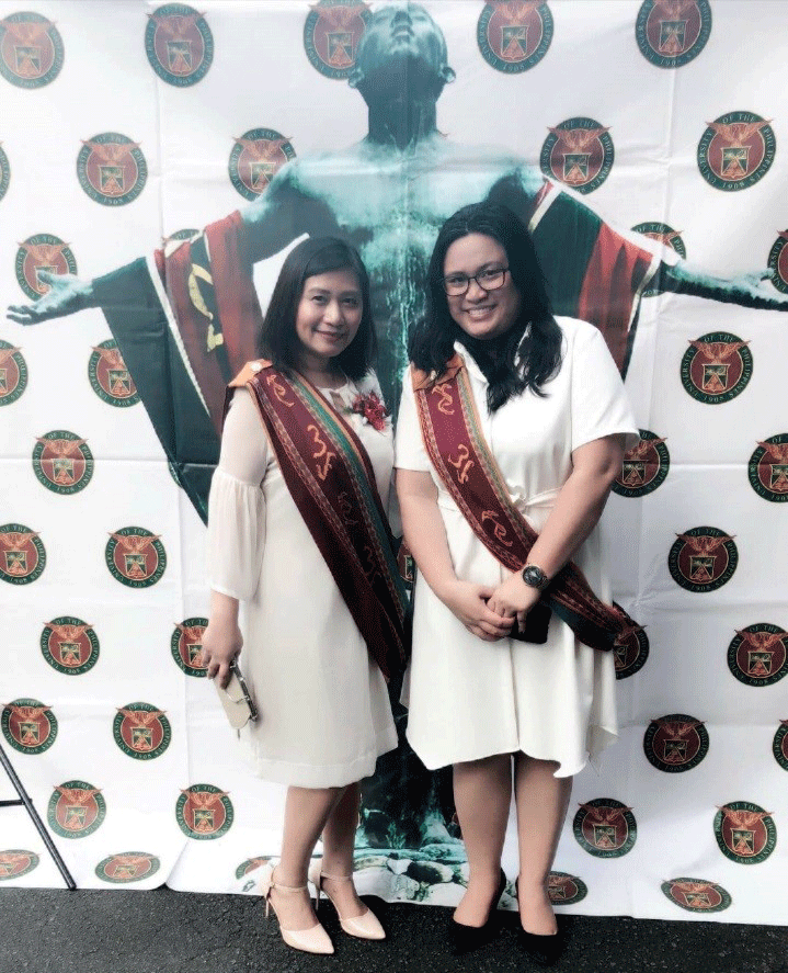 Ms. Elaeza P. Abellar and Ms. Klarriness P. Tanalgo