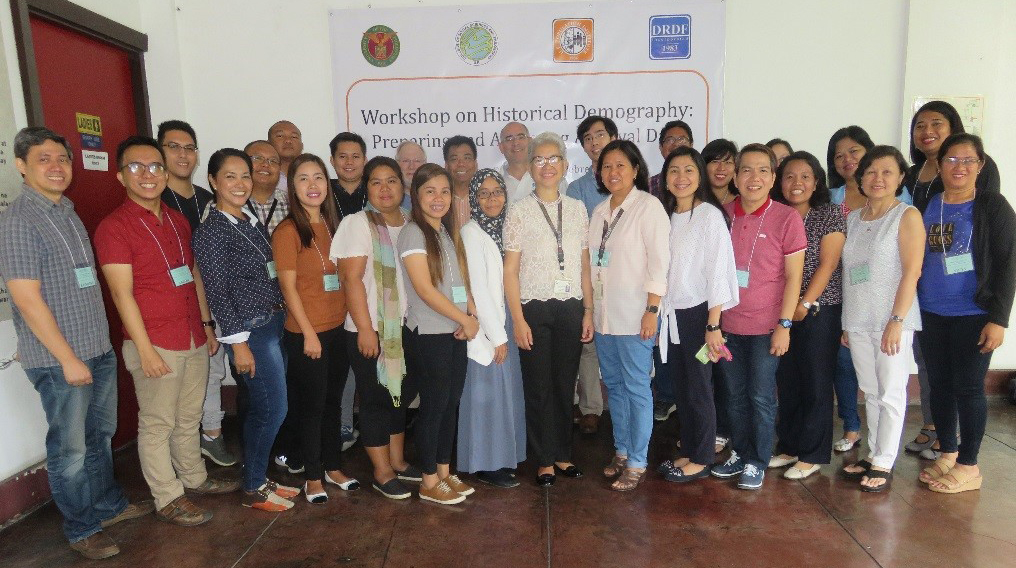 Group picture at the UPPI for workshop participants and speakers on Feb. 6, Day 1